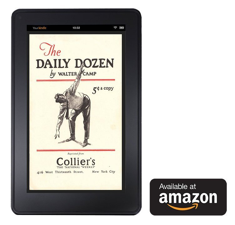 Daily Dozen Booklet for the Kindle