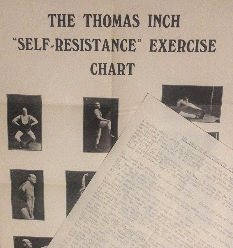 Self Resistance Exercises Muscle on Muscle