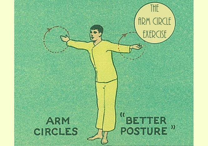 Arm Circle Exercise Shoulders Posture